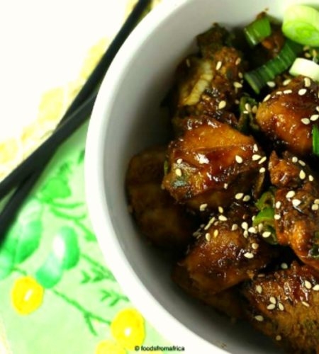 teriyaki-chicken-and-african-cocoyam-taro-root