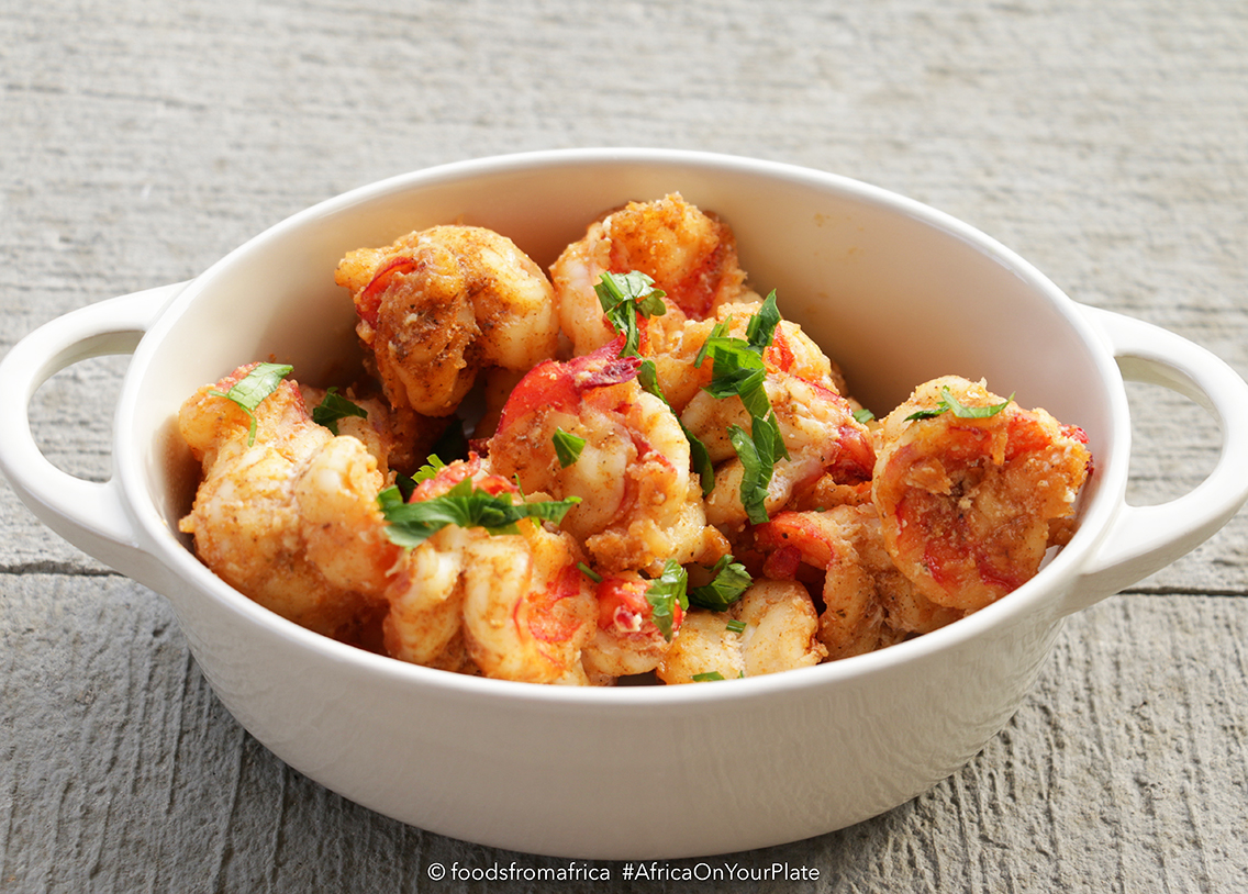 Pan-fried prawn and chilli images