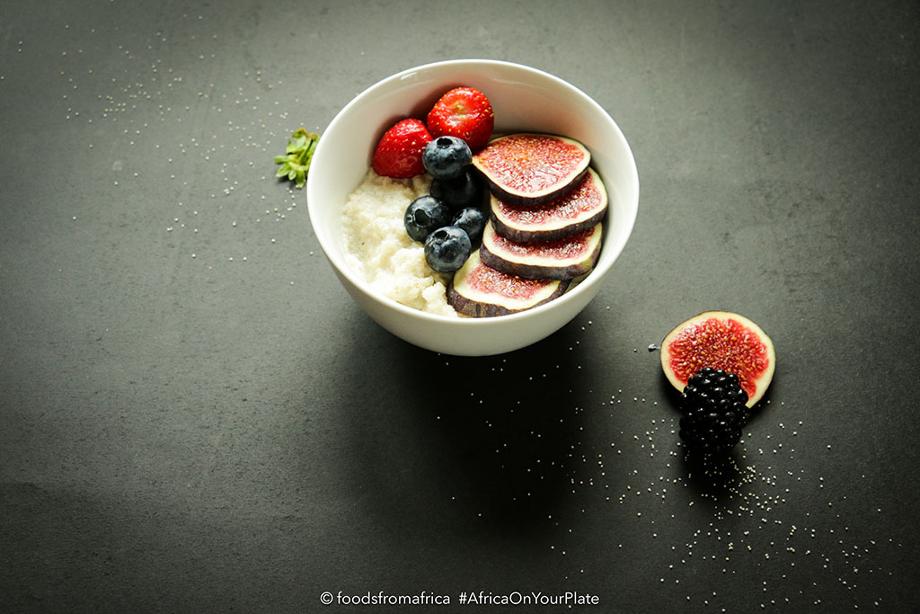 Acha (Fonio) Breakfast Porridge Bowl
