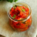 East African Rustic Tomato and Onion Salsa (Kachumbari)