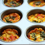 Baked Eggs and Spinach Muffins