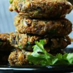 Black-Eyed Beans Veggie Burger