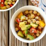 Egyptian-chickpea-avocado-salad