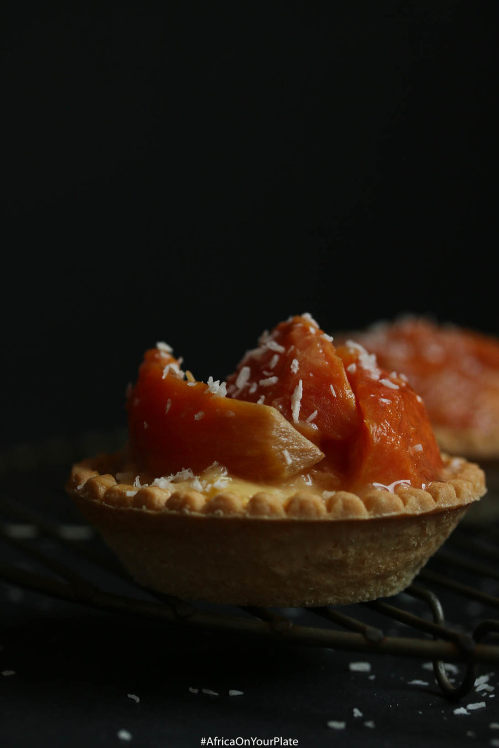 african-star-apple-egg-custard-tartlet