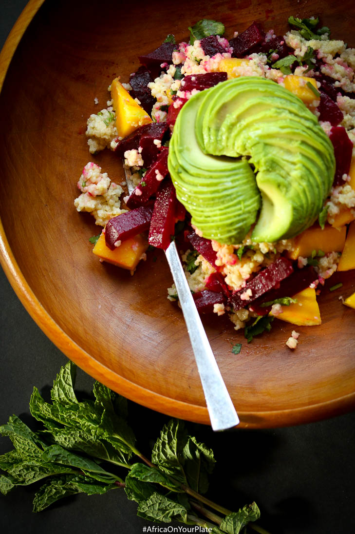 millet-beet-avocado-salad-foods-from-africa