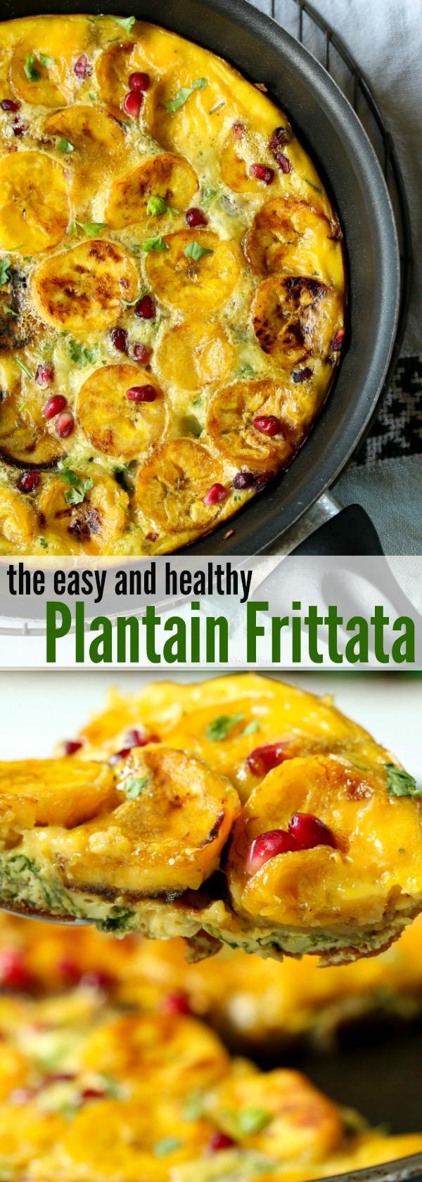 African Plantain Frittata