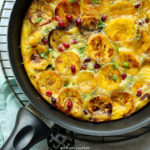 One-Pan Plantain and Egg Breakfast Fritatta