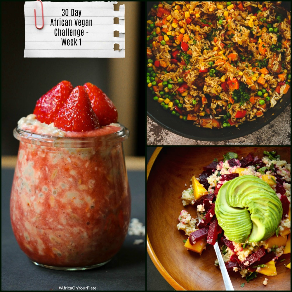 african vegan challenge-week one